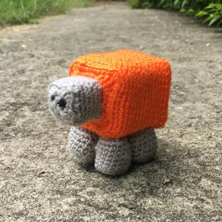 Meet Meep Sheep, the orange mascot of Minecraft & Meltdowns Autism support group